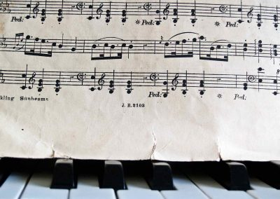 Instruments de musique – Réparations