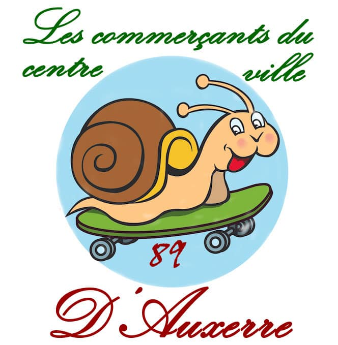 Les commerçants du centre ville d' Auxerre